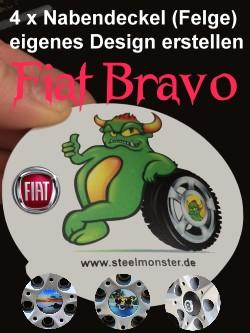 Tuning Design der Felgen für Fiat Bravo