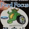 Design Felgen für den Ford Focus - Nabendeckel in Deinem Look
